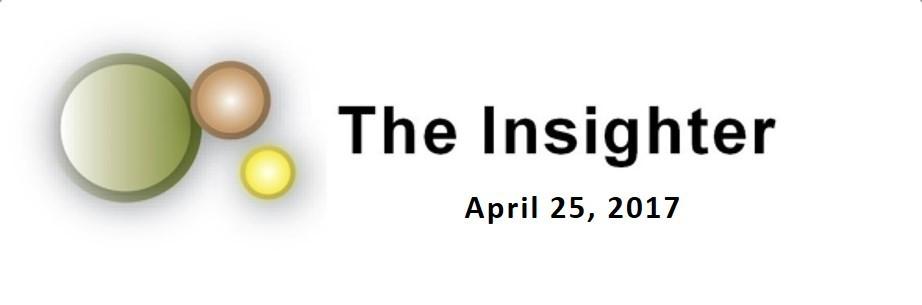 newsletter April 25