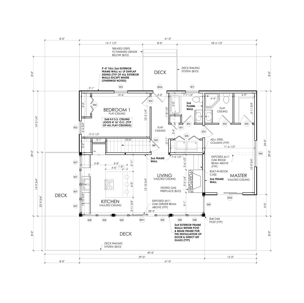 Caycedo 1st Floor Plan