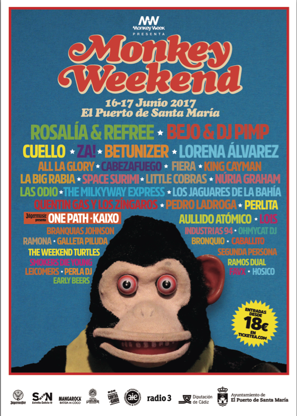monkey weekend baja