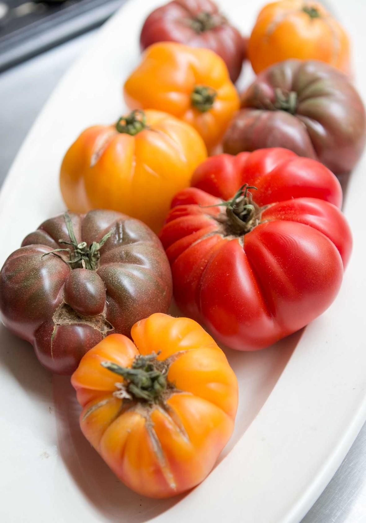 Tomato basil shelling bean salad recipe-2