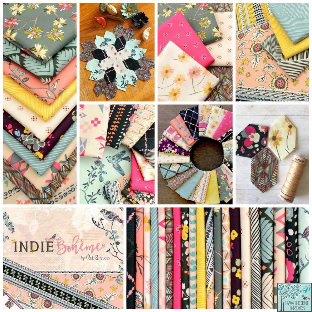 Indie Boheme fabric poster