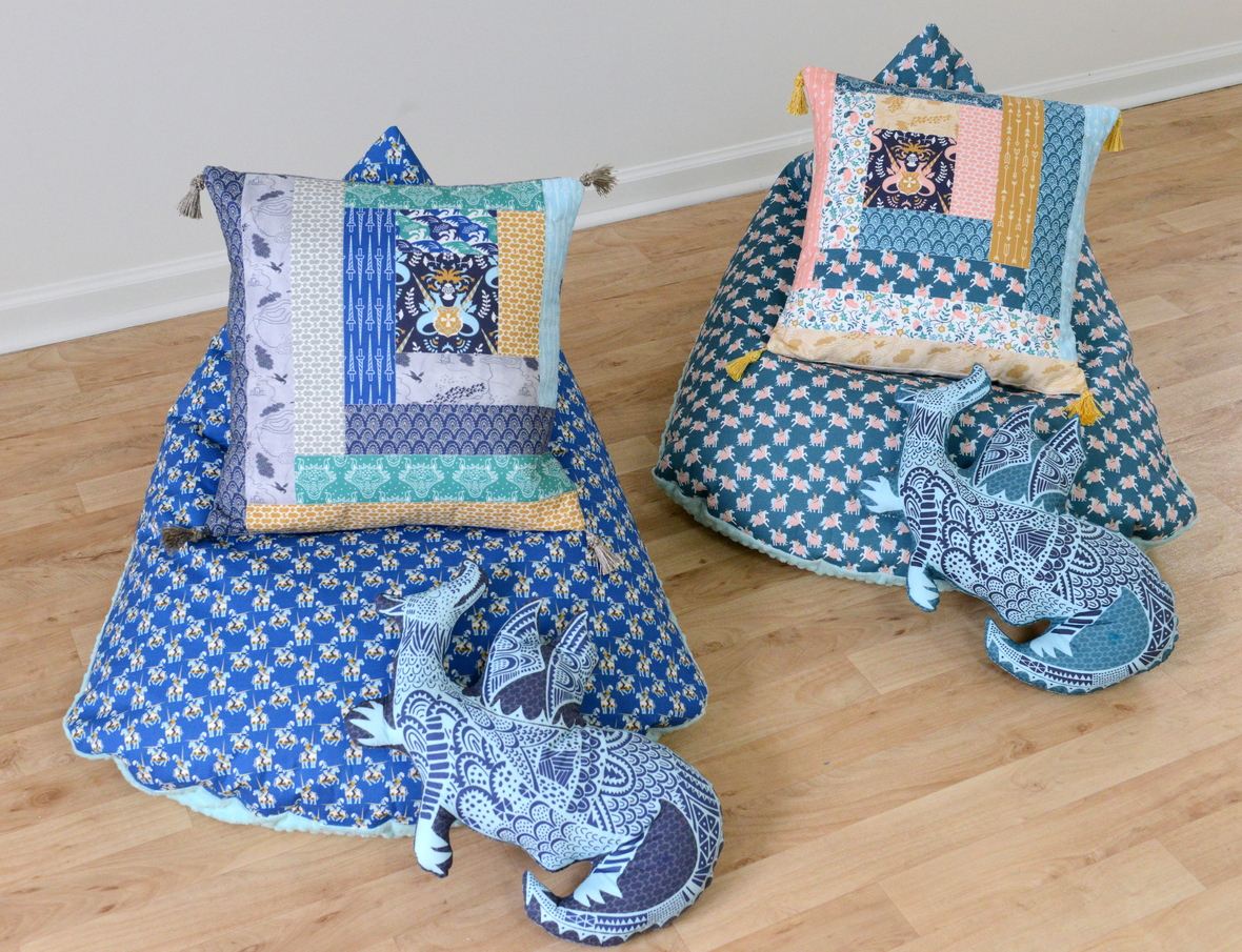 Brave Fabric Bean Bag Chairs and Pillows Copy
