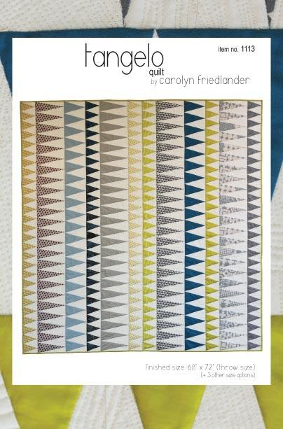 carolyn friedlander tangelo quilt sewing pattern