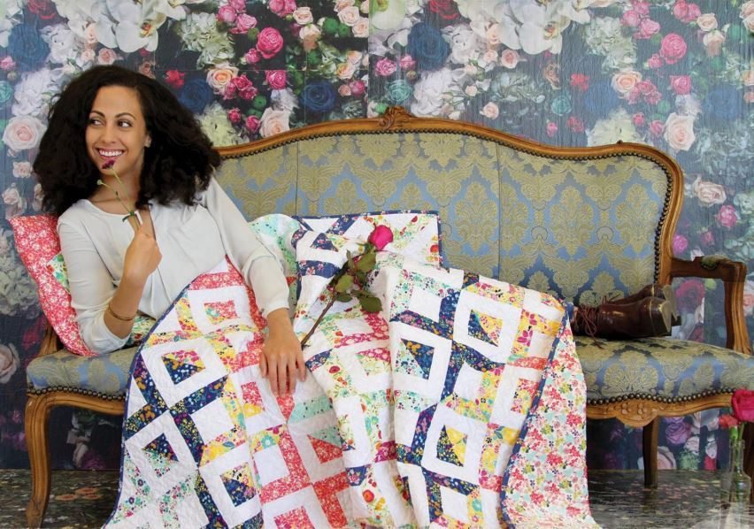 Flowerfield Quilt Kit