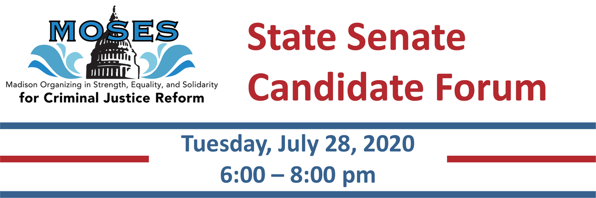 Senate Candidate Forum July 2020