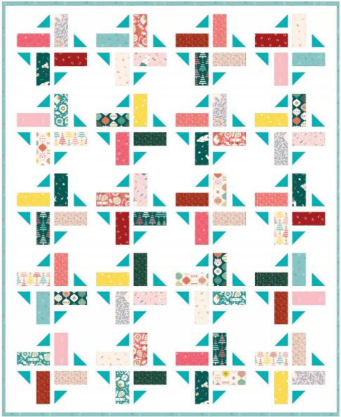 Division Quilt by A Bright Corner
