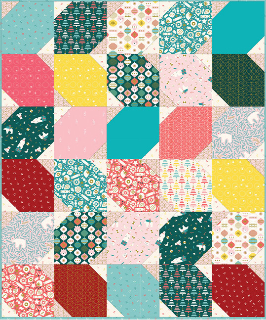 TilePlay Free Quilt Pattern from Figo