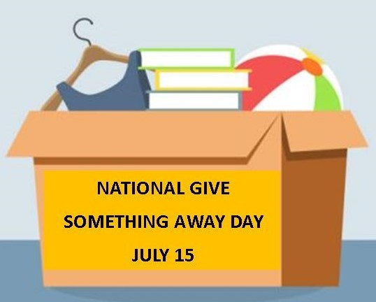 National Give Something Away Day