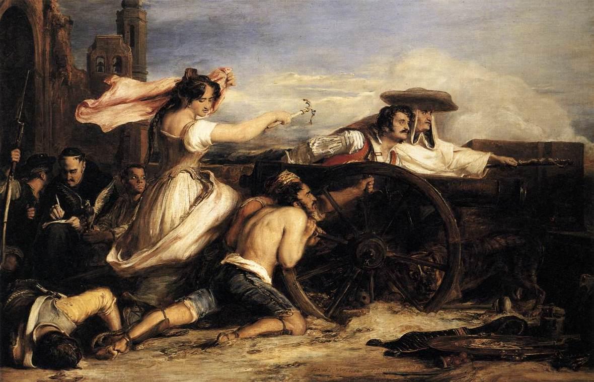 Wilkie - defence of saragoca