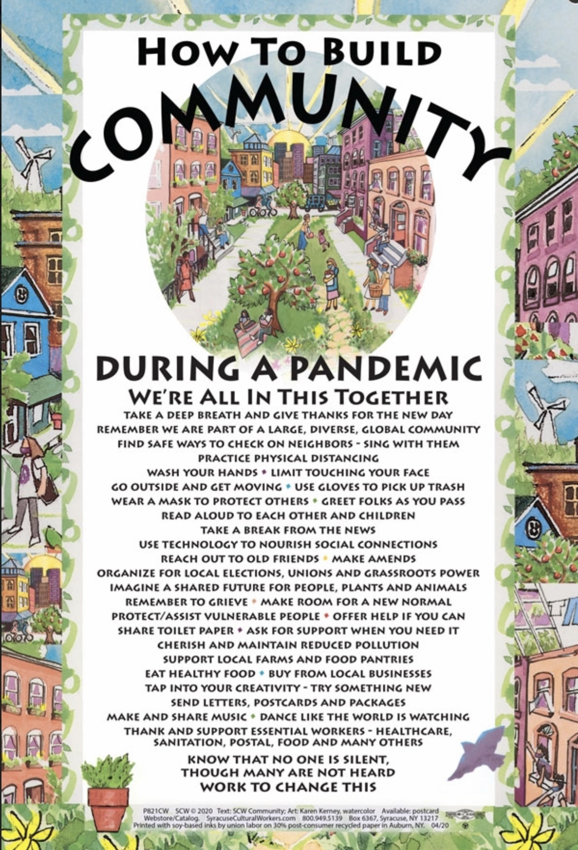 How to Build a community during a pandemic