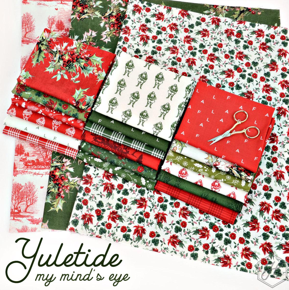 Christmas Yuletide fabric Riley Blake at Hawthorne Supply Co