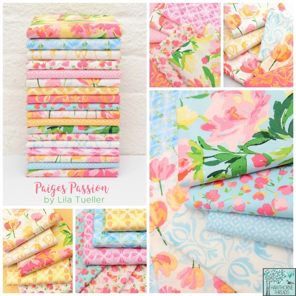 Paiges Passion fabric poster