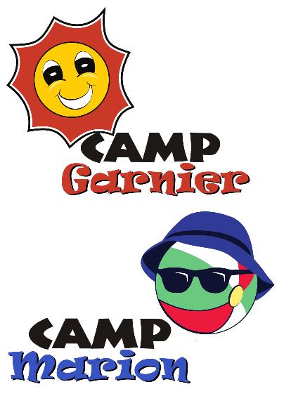 Camps Garnier   Marion Logos
