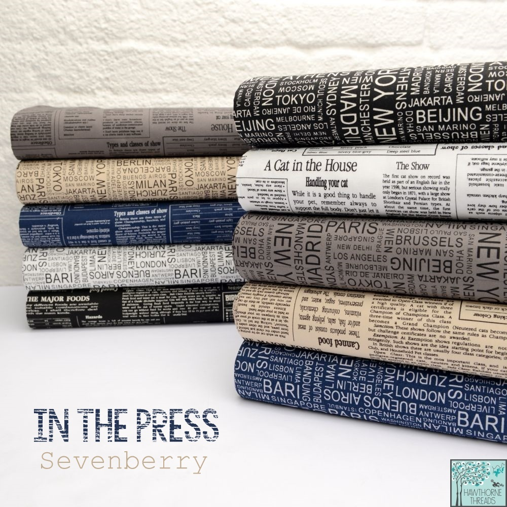 In the Press Fabric Poster