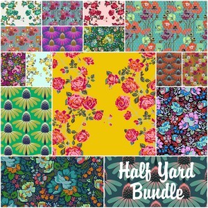 4649 floral retrospective half yard bundle