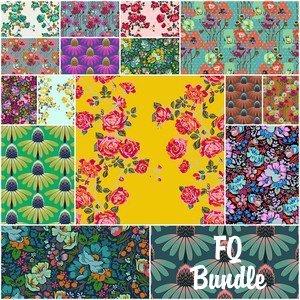 4646 floral retrospective fat quarter bundle