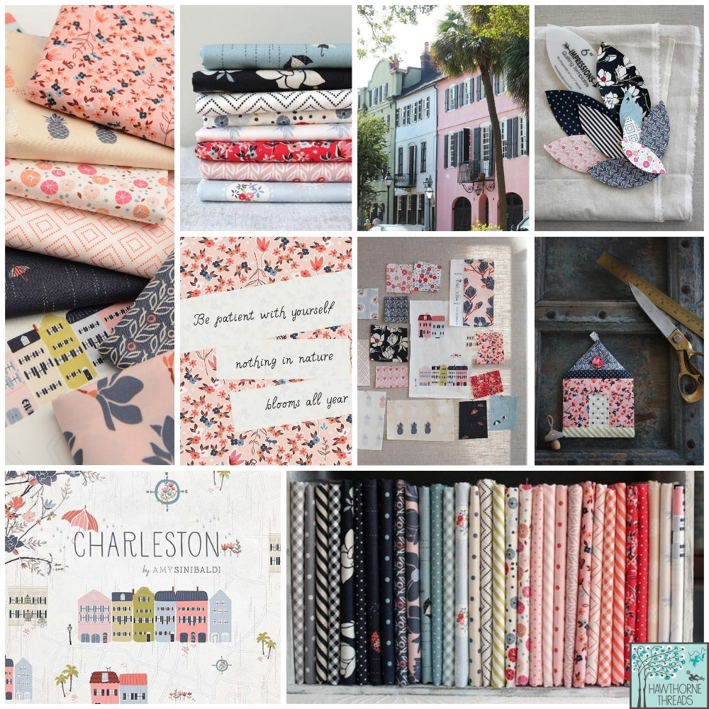 Charleston Fabric Poster