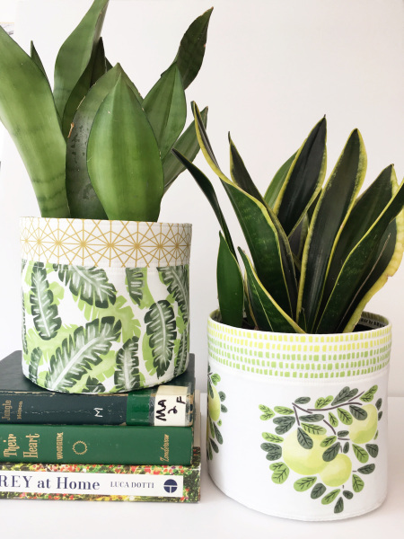 Botany Fabric Basket DIY