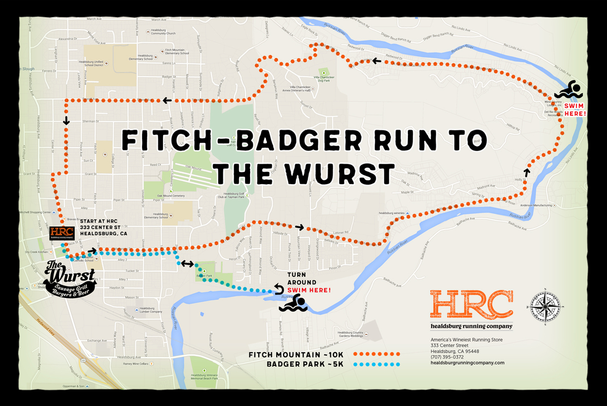 badger fitch wurst map