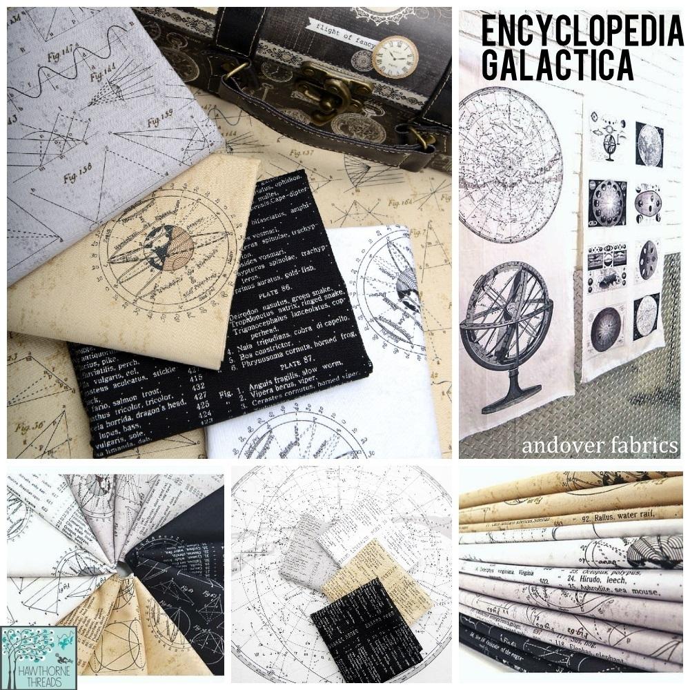 Encyclopedia Galactica Fabric Poster