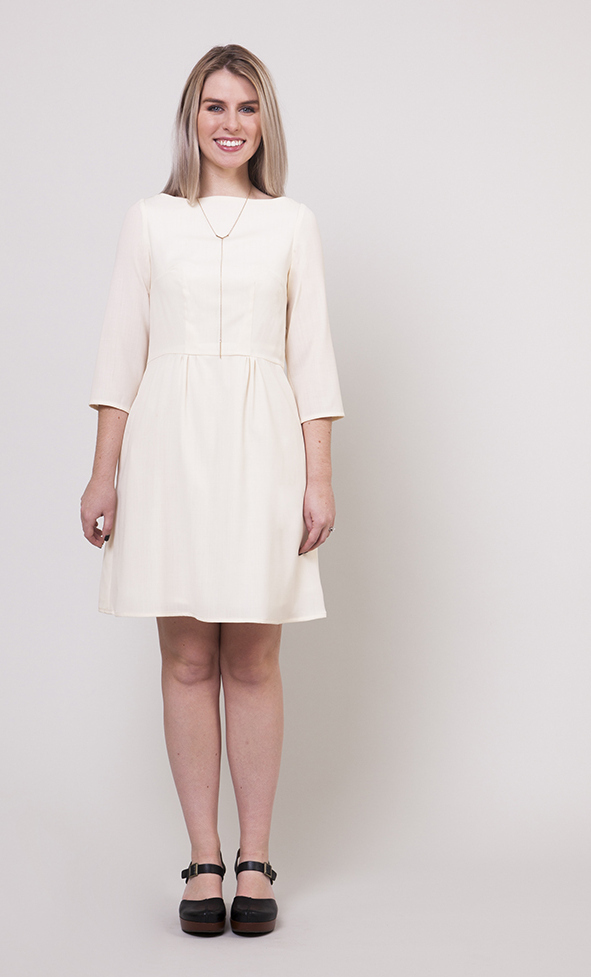 collete patterns- peony dress