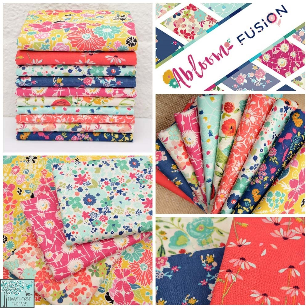 Abloom Fusion Fabric Poster