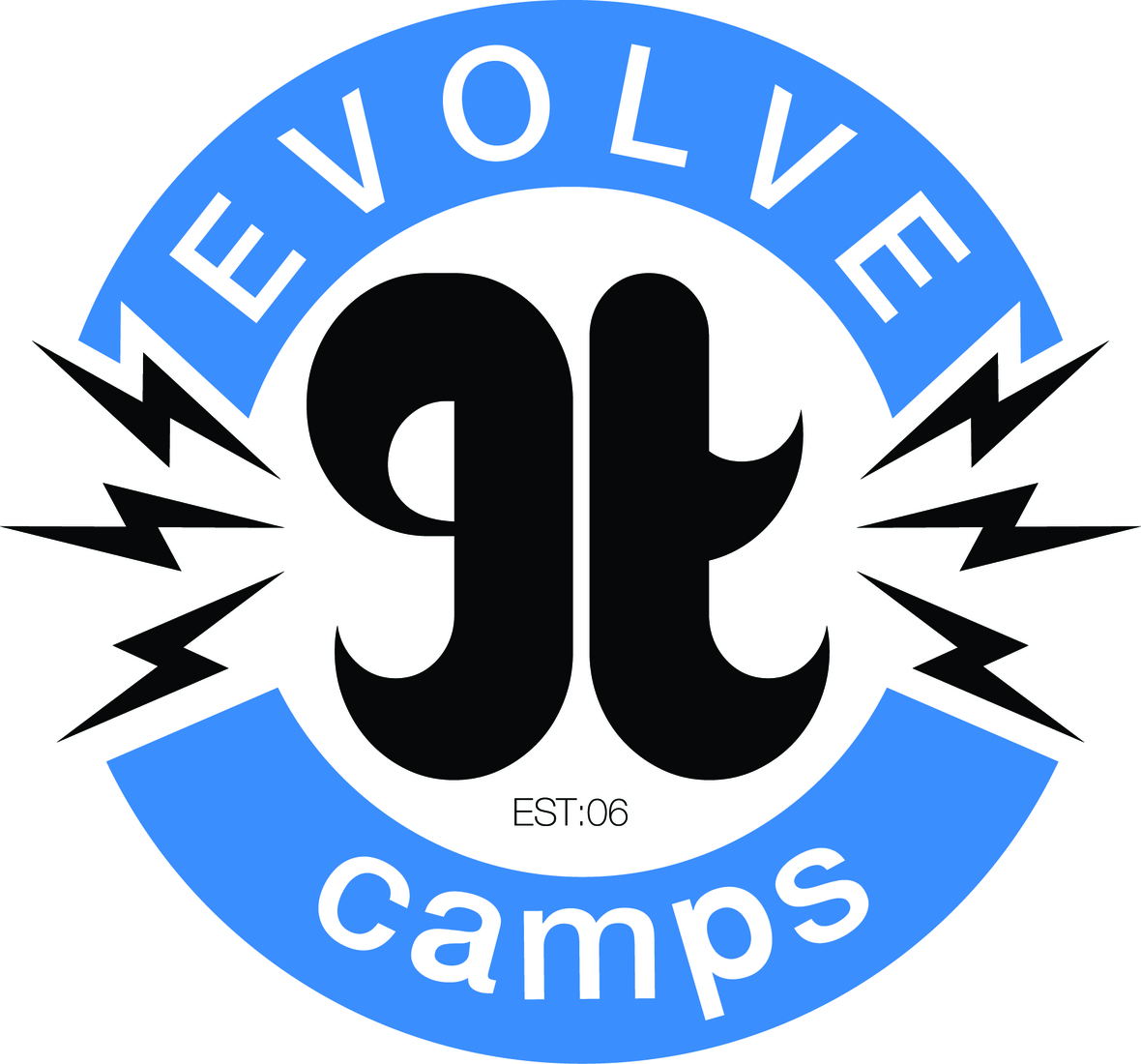 Evolve.camps.logo