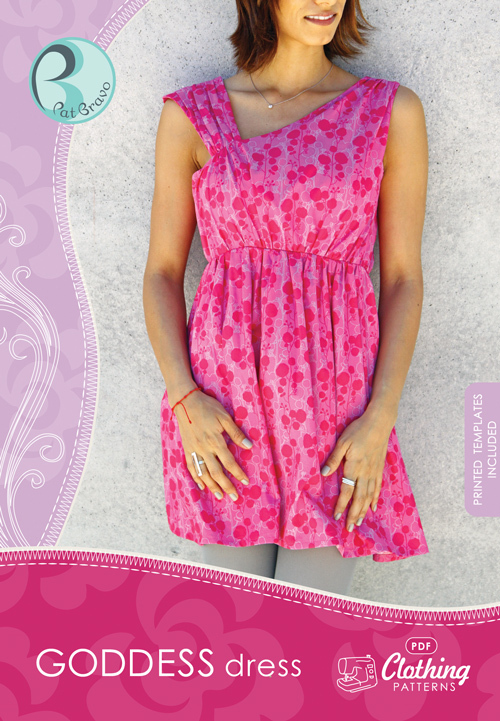 patricia bravo goddess dress sewing pattern