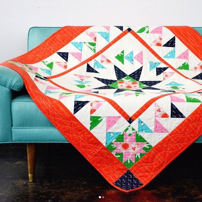 Noel Fabric Quilt