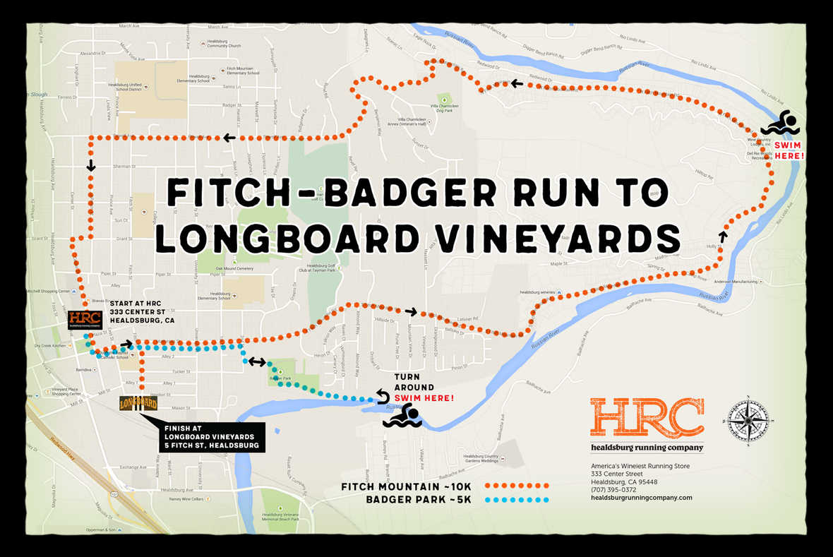 badger fitch longboard map