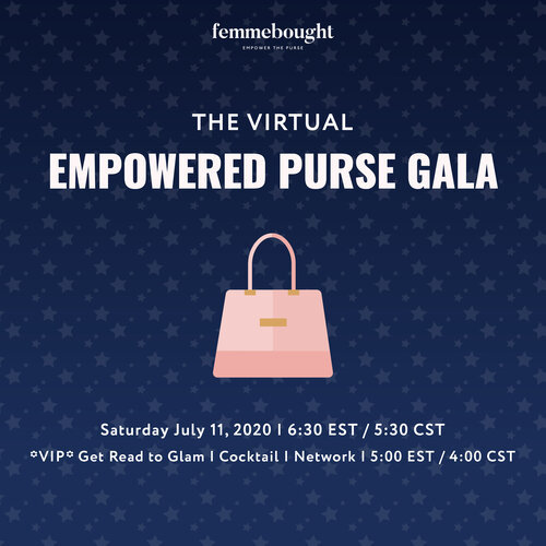 Virtual Red Carpet Gala femmebought July11 2020