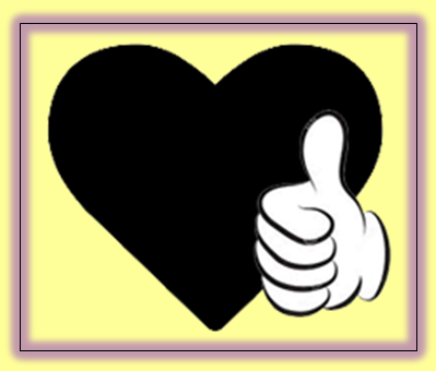 Thumbs up heart