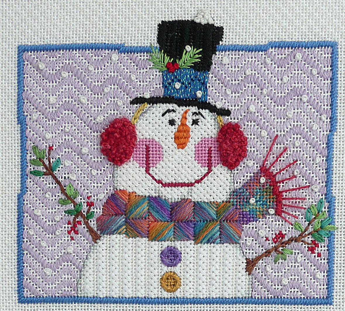 1101 Top Hat Snowman