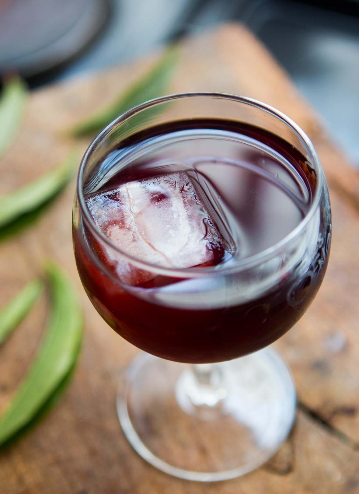 Vin de peche peach leaf wine recipe recette-3