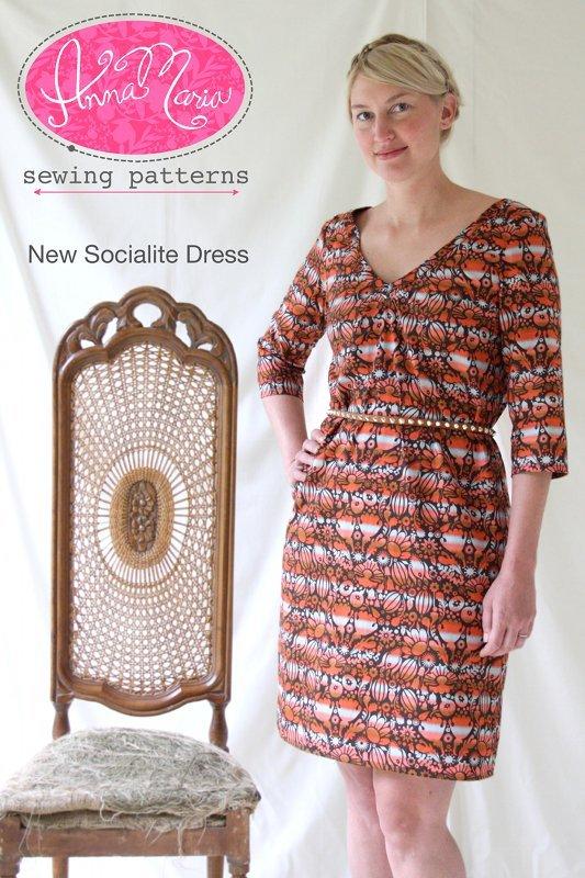 anna maria horner new socialite dress sewing pattern