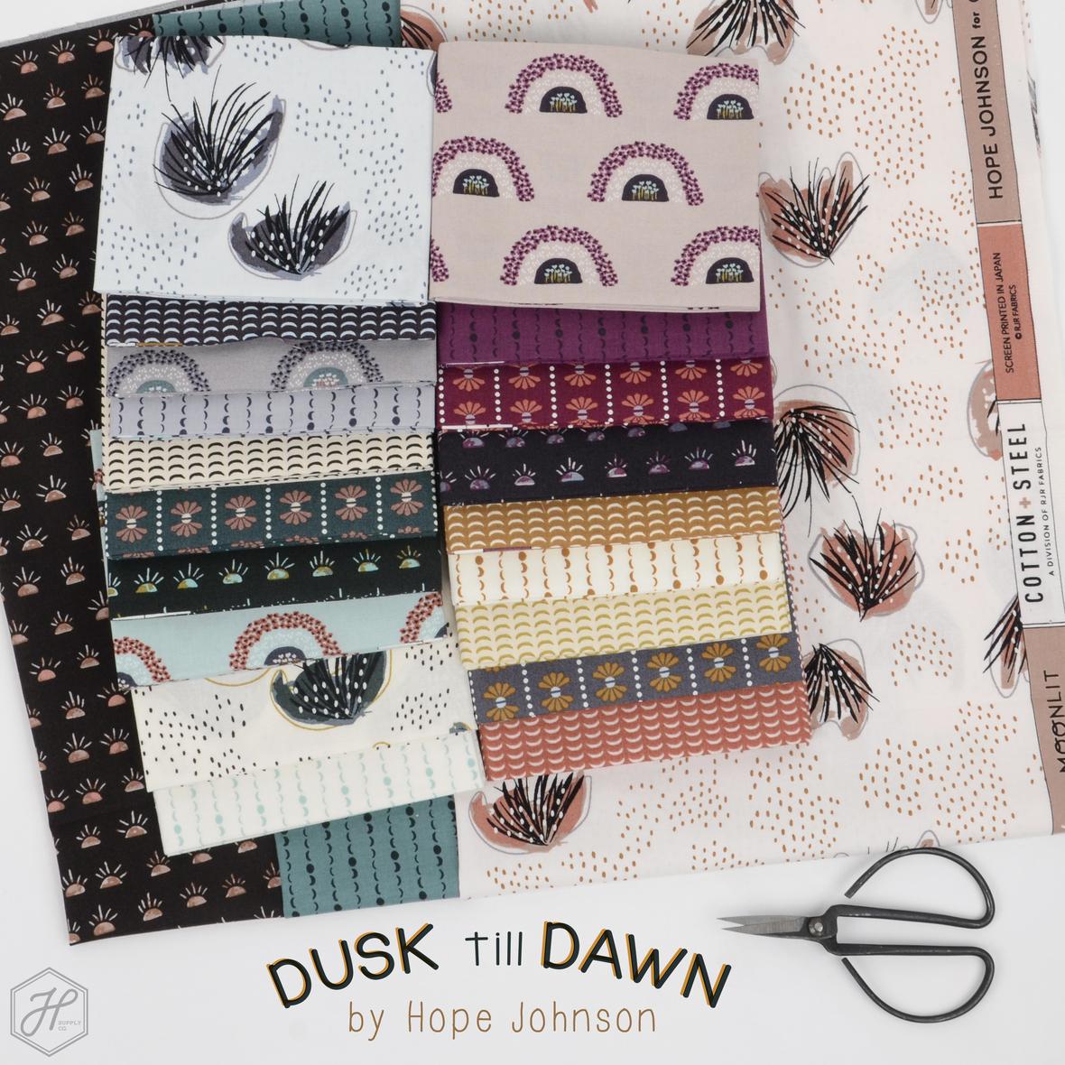 Dusk til Dawn by Hope Johnson fabric at Hawthorne Supply Co