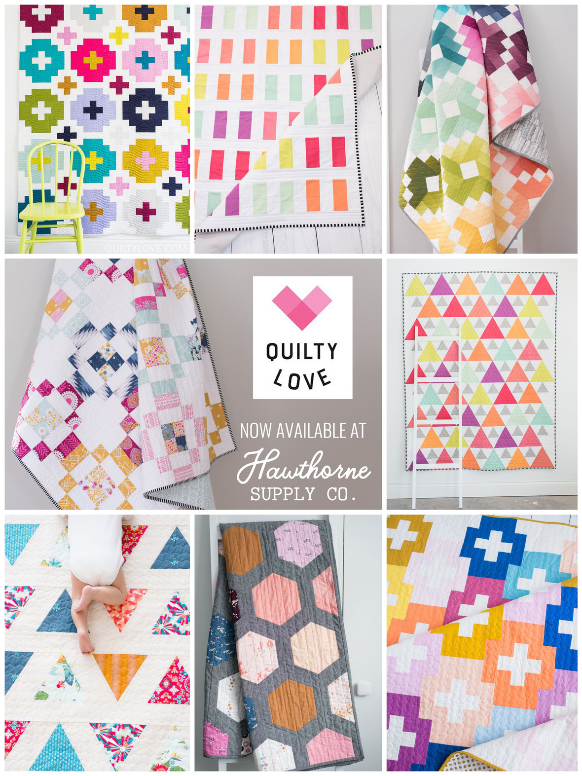 Quilty Love Patterns at Hawthorne Supply Co