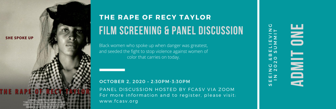 Recy Taylor Screening 2