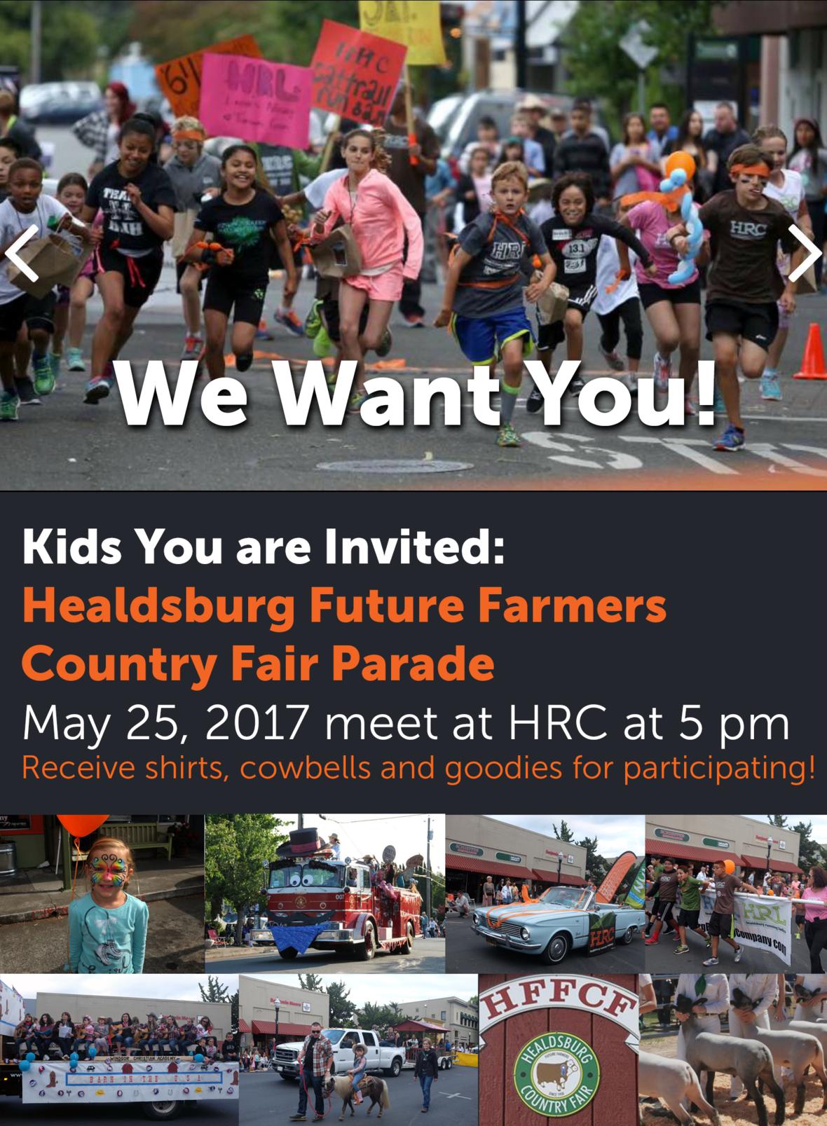 hrc kids parade