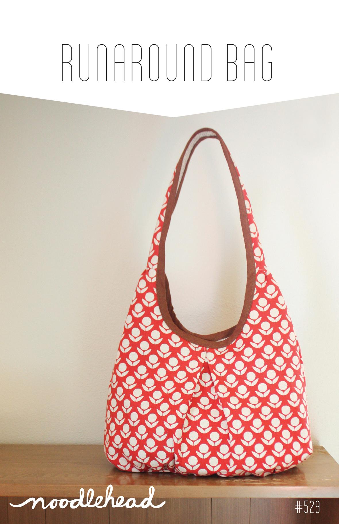 noodlehead runaround bag sewing pattern