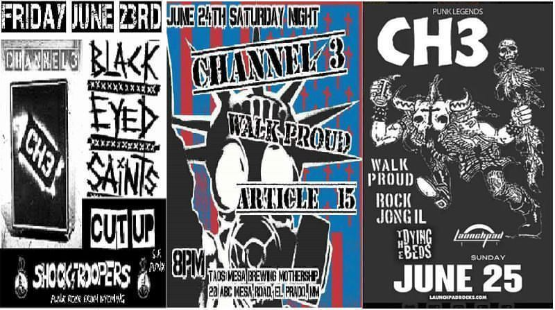 ch3 show flyers