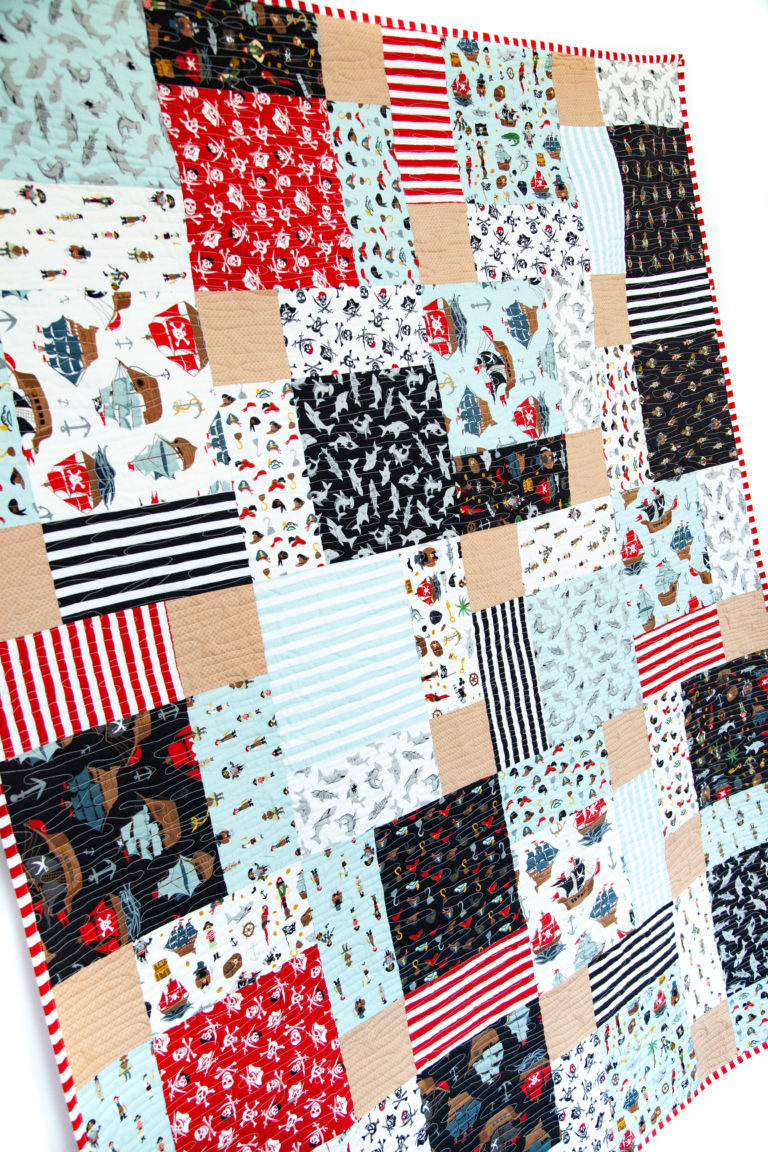 Pirate Tales Quilt 2