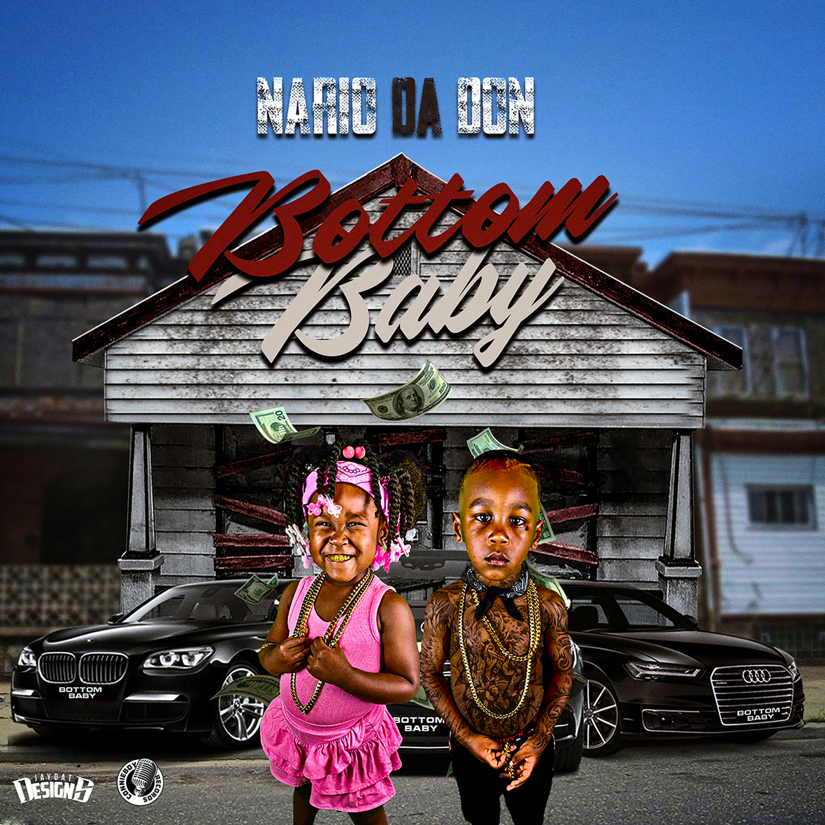 small Nario Da Don - Bottom Baby Clean Front