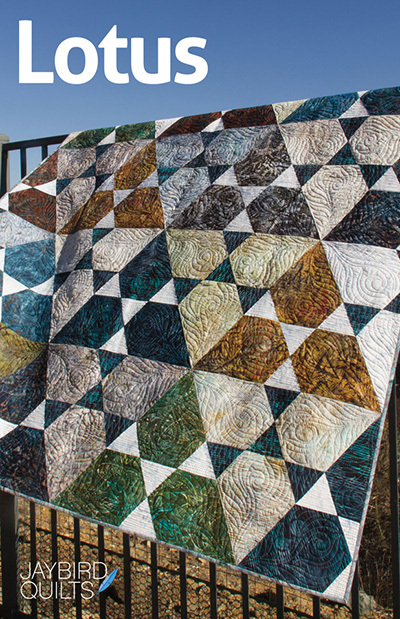 jaybird quilts  lotus sewing pattern