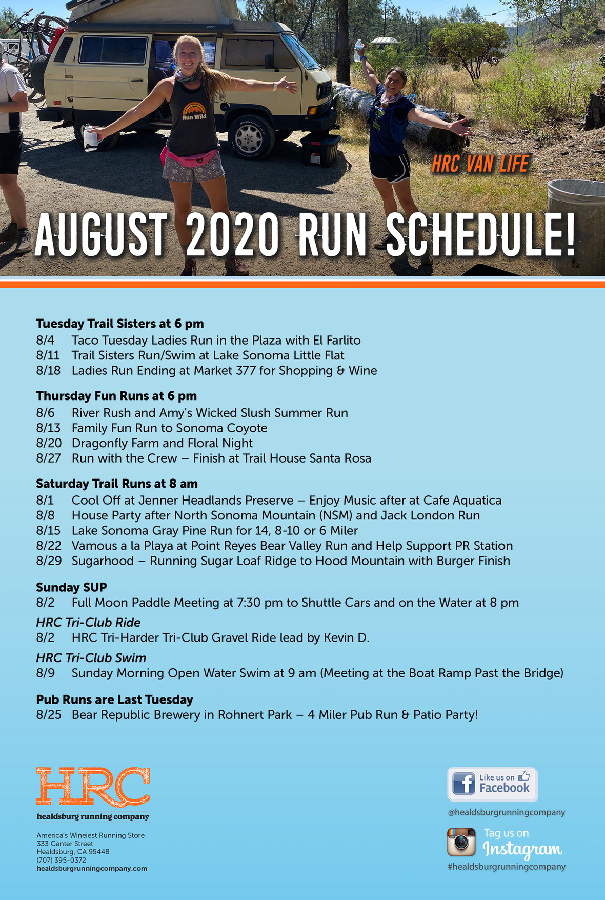 aug-run-sched-2020 newsletter