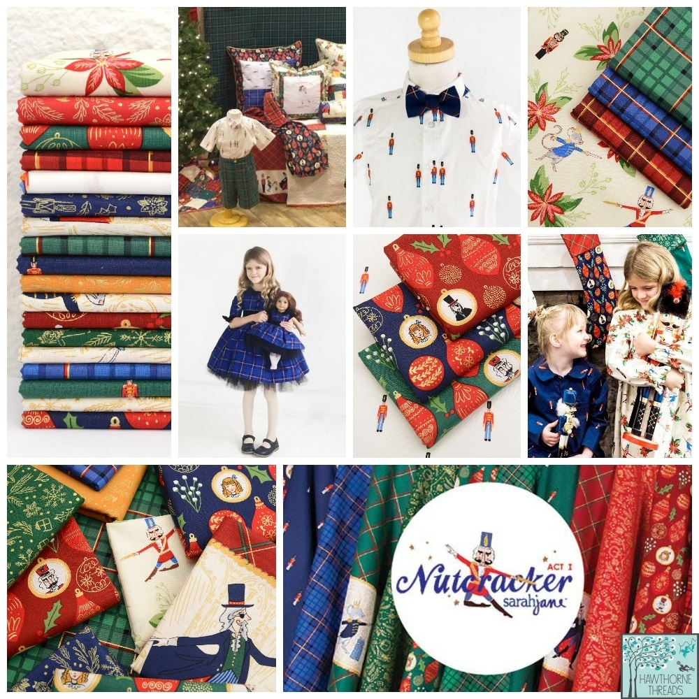 Nutcracker fabric poster