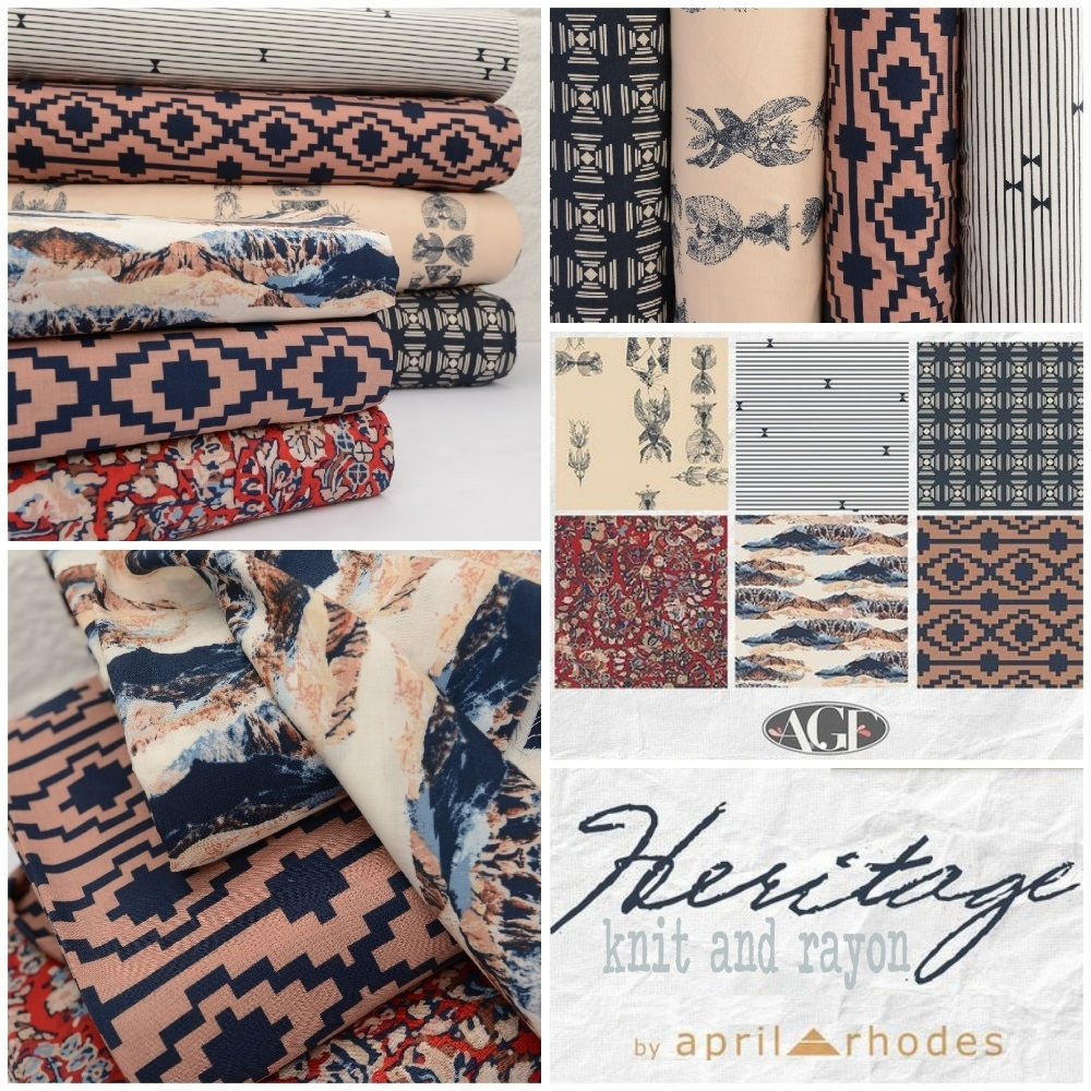 Heritage Fabric Poster