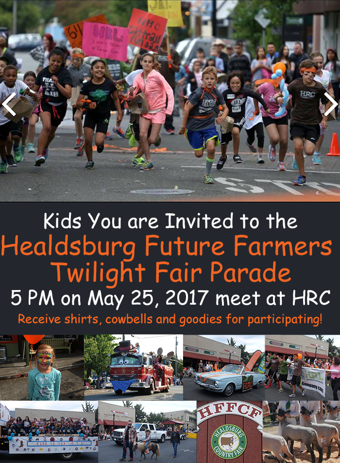 hrc kids parade newsletter