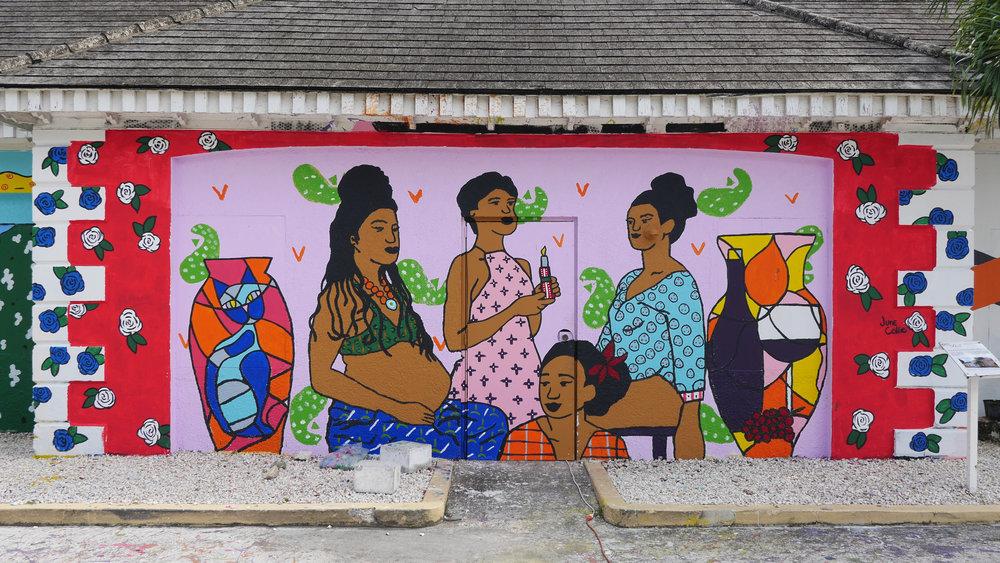 NAGB Mural