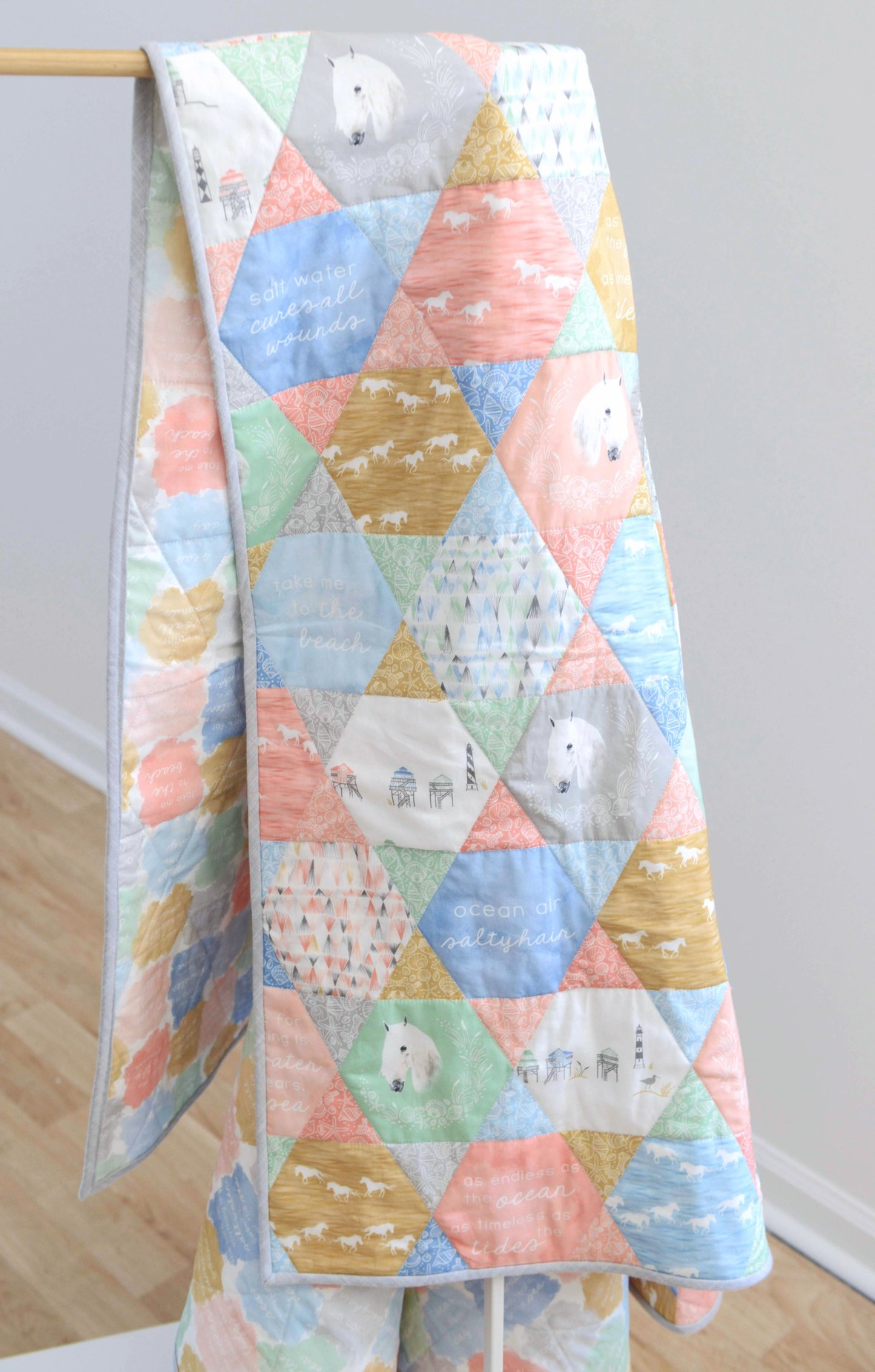 Outer Banks Fabric Quilt c